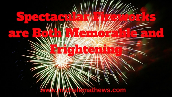 fireworks, writing