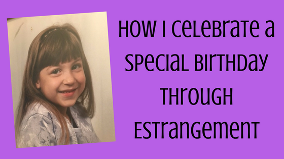 birthday, estrangment